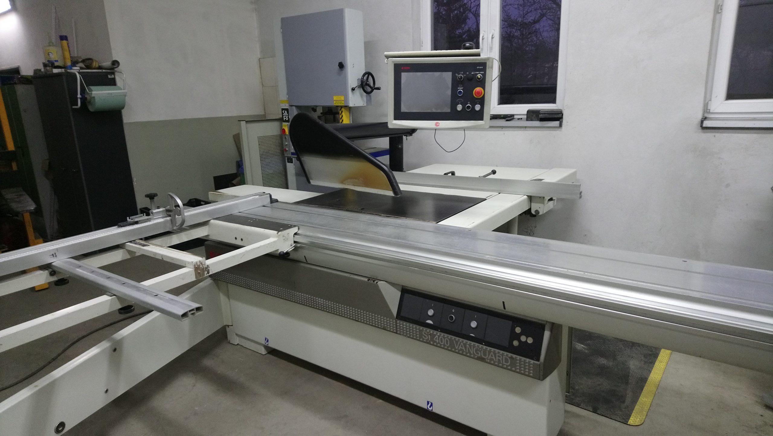 Pilarka Formatowa SCM typ SI-400 VANGUARD